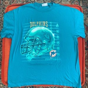 Other - ‼️SOLD NFL Miami Dolphins t-shirt 🏈 Size XL